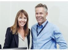 Hans-Petter Mellerud og Nina Stemshaug