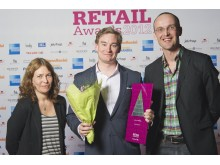 Vinnare Årets butikskedja, Retail Awards 2012, Naturkompaniet