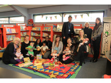 BACK IN THE BOROUGH: babies born at North Manchester General can now be registered at Langley Library/Children's Centre or Heywood Library