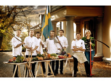 "The chefs at ""Kockarnas Krog"""