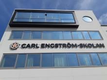 Carl Engström-skolan i Eslöv Fasad