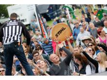Publikrekord på Roskilde Dyrskue där Nordiska Mästerskapen i STIHL TIMBERSPORTS hölls