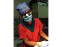 Petra Peterson, plastikkirurg på Karolinska Universitetssjukhuset i Solna och volontär för Operation Smile på uppdrag i Madagaskar