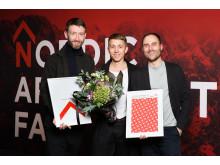 Årets vinnare i Nordic Architecture Fair Award: Snabba hus av Andreas Martin-Löf Arkitekter.
