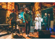 Max Herre, Clueso, Samuel Yirga & friends in concert in Addis Abeba, Äthiopien