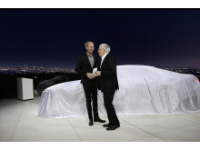 Audi prologue with cover - Marc Lichte og Prof Dr Ulrich Hackenberg