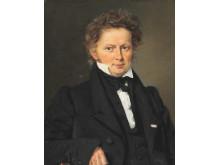 Portræt af digteren Ingemann