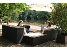 Villeroy & Boch schafft Außenarbeitsplätze für Mitarbeiter im Abteipark Mettlach