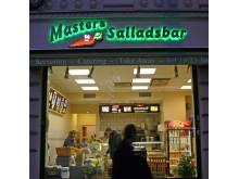 Diodskylt Masters salladsbar