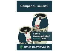 Opus Bilprovning - Campar du säkert?