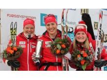 Vinnere jaktstart kvinner (kongepokal), NM 2016