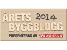 Årets Byggblogg 2014 Logotyp