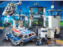 Das Polizei-Team von PLAYMOBIL im Einsatz