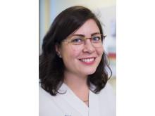Bitr chefsjuksköterskan Johanna Ylvin, samordnare för volontärer på Danderyds sjukhus
