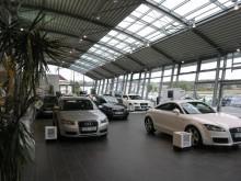 Audi-bilhall