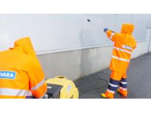 Fasadtvätt/fasadrengöring