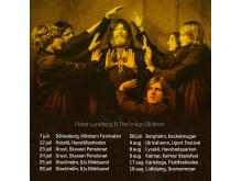 Ebbot Lundberg turné sommaren 2018