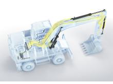 Volvo EW160E och EW180E - nytt hydraulsystem