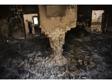 Läkare Utan Gränsers traumasjukhus förstördes den 3 oktober i en bombattack, minst 30 människor dog i attacken.