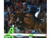 Jens Fredricson rider SM i hoppning