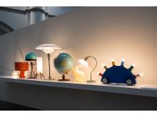 Från utställningen Nordiskt ljus På Nordiska museet, foto Karolina Kristensson