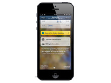 EXPEDIA'S MOBILE APP TAKES FLIGHT