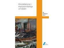 Omslag SEK Handbok 427 Elinstallationer i explosionsfarliga områden