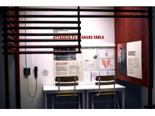 Vy över Kronan VI & DOM - en utställning om hatbrott