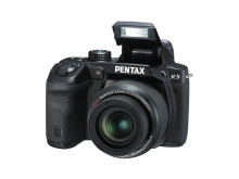 Pentax X-5 front flash