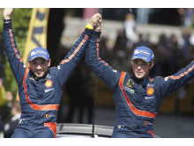 Thierry Neuville and Nicolas Gilsoul, Hyundai Shell World Rally Team