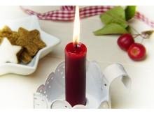 Ljus jul If brandrisk
