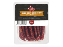 Salami sticks smoked chorizo