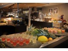 Scandic Nidelven - ferskpresset frukt- og grønnsaksshots og smoothie