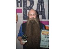 Jonas Bergkvist, Best Full Natural Beard 2018