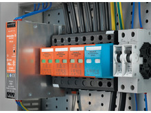 Weidmüllers VPU överspänningsskyddsenheter klass 1, 2 och 3 för kraftmatningar