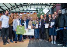 Nyskaparstipendiet 2017 - vinnare och finalister