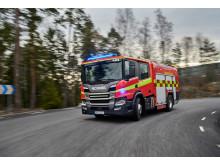 Scania P 360 Feuerwehrfahrzeug mit CrewCab