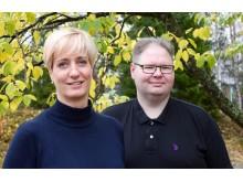 Anna-Karin Lindqvist och Josef Hallberg.