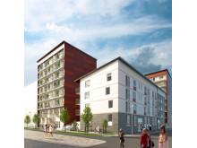 HSB Verona Kvillebäcken lägenhet