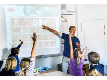 Trilo i klassrum