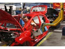 """Fords """"Happy Seat"""" förbättrar arbetsmiljön i företagets europeiska fabriker - bild 3"""
