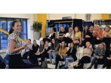 AW-workshop för kvinnliga startups