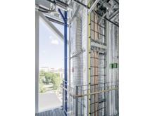 Hisschakt HSB Living Lab. 15 000 meter datakabel.