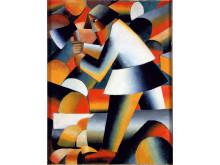 Kazimir Malevich, De houthakker, 1912