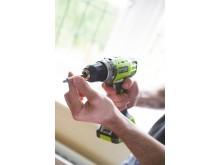 Ryobi 14,4 volt bore-/skruemaskine R14DDE - miljøbillede 6