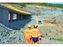 Stort veiprosjekt utenfor Trondheim