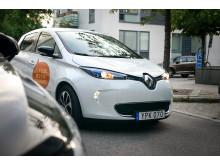 Renault ZOE i elbilspool