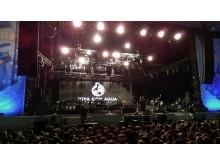Clueso auf der Bühne - Highfield Festival 2015