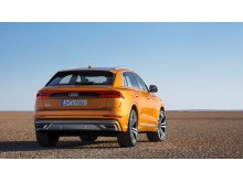 Audi Q8 (dragon orange) bagfra
