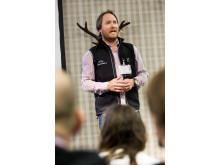 Ola Skinnarmo föreläste på Nordic Outdoor